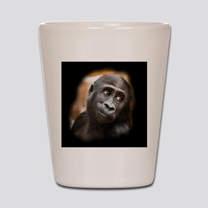 Smiling Gorilla Baby Shot Glass