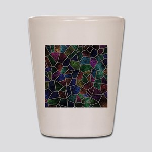 Mosaic LORA multicolor Shot Glass