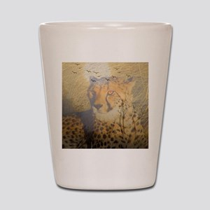 "Magic Animals ""CHEETAH"" Shot Glass"