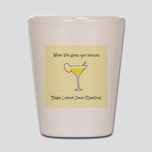 Lemon Drop Martinis Shot Glass