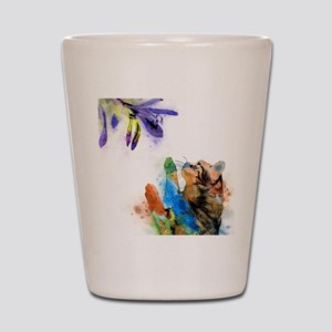 Cat 610 Shot Glass