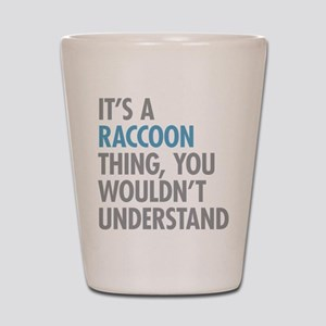 Raccoon Thing Shot Glass