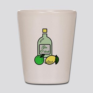 Gin O'clock Shot Glass