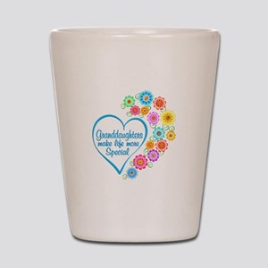 Granddaughter Special Heart Shot Glass