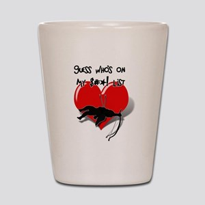 Anti-Valentine - Guess Who's On My $#@! Shot Glass