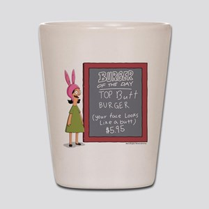 Bob's Burgers Burger of the Day Shot Glass