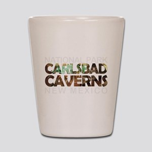 Carlsbad Caverns - New Mexico Shot Glass
