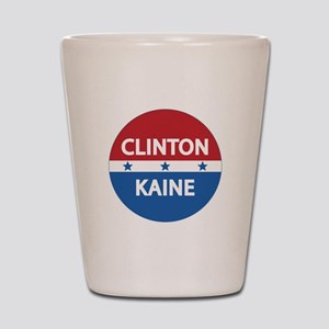 Clinton Kaine 2016 Shot Glass