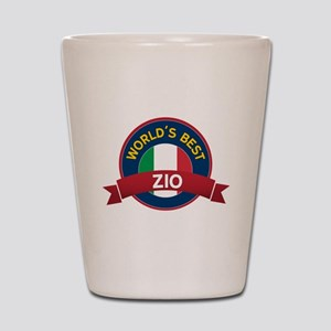 World's Best Zio Shot Glass