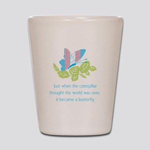 Transgender Butterfly Shot Glass