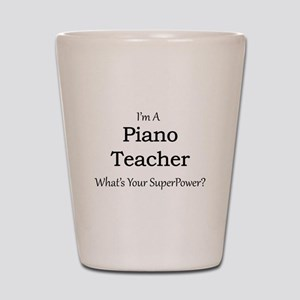 Piano Teacher Shot Glass