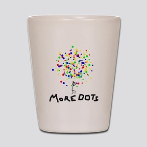 MORE DOTS! Shot Glass