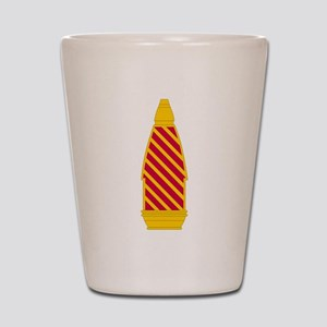 9th Infantry Division Artillery Shot Glass