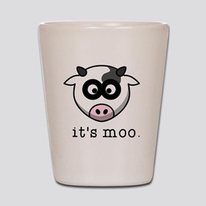 It's Moo Shot Glass