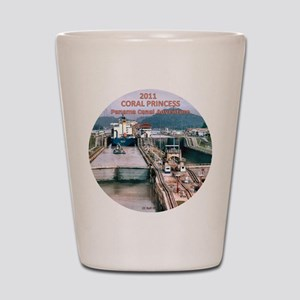 Coral Princess - 2011 Panama Canal Adve Shot Glass