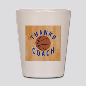 Thank You Basketball Coach Gift Magnets Shot Glass