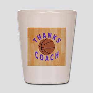 Basketball Coach Thank You Gift Magnet Shot Glass