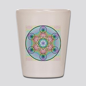 Metatron's Cube Rainbow Shot Glass