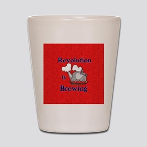 Revolution is Brewing Shot Glass