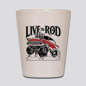 LIVE TO ROD 1957 Gasser Shot Glass