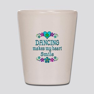 Dancing Smiles Shot Glass