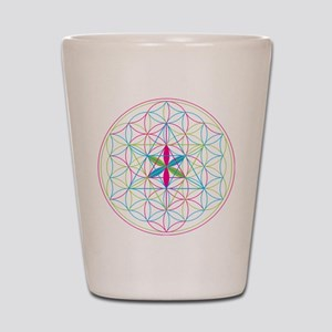 Flower of life Metatron Merkaba Shot Glass