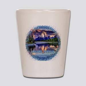 Grand Teton National Park Shot Glass