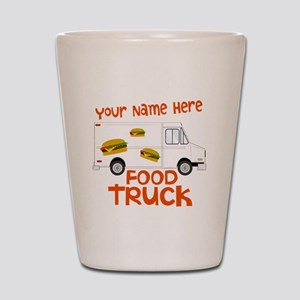 Food Truck Shot Glass
