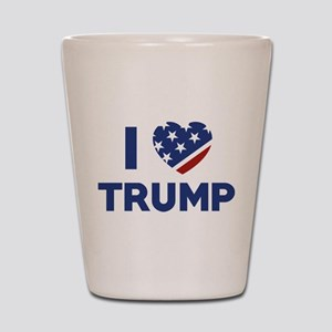 I Love Trump Shot Glass