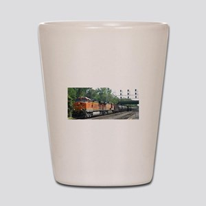 RailFans Shot Glass