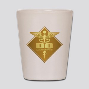 DO gold diamond Shot Glass