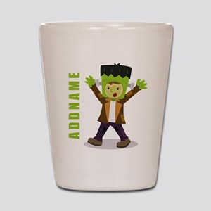 Halloween Green Goblin Personalized Shot Glass