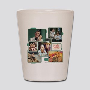 Andy Griffith Collage Shot Glass