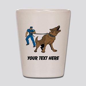 Police K9 Unit (Custom) Shot Glass