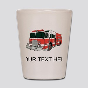 Firetruck (Custom) Shot Glass