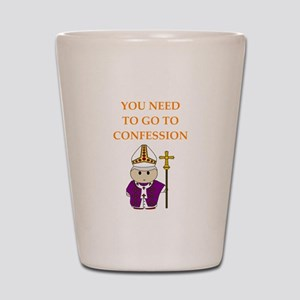 confession Shot Glass