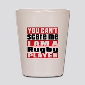 I Am Rugby Player Shot Glass