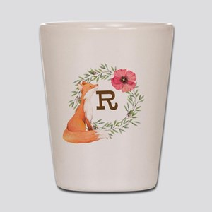 MONOGRAM Woodland Fox Shot Glass