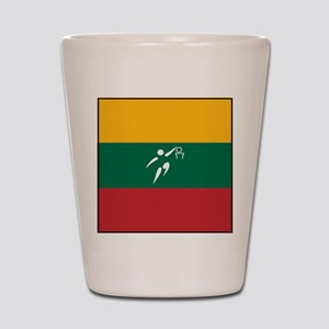 Team Basketball Lithuania Shot Glass