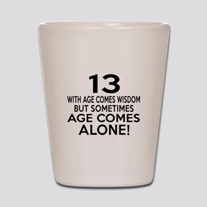 13 Awesome Birthday Designs Shot Glass