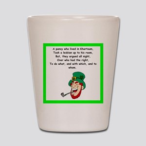 limerick Shot Glass