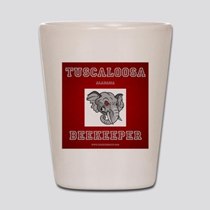 Tuscaloosa Beekeeper Shot Glass