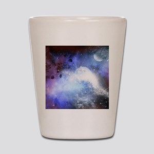 The universe Shot Glass