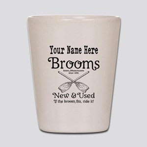 New & used Brooms Shot Glass