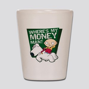 Family Guy My Money Shot Glass