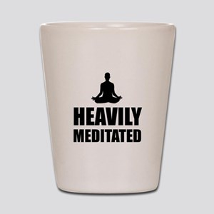 Heavily Meditated Shot Glass