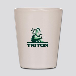 Triton Arms Crossed Trident Front Retro Shot Glass