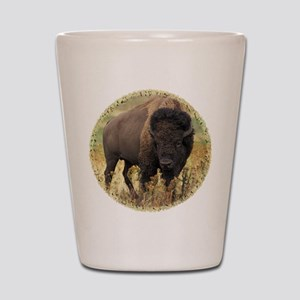 American Bison Shot Glass