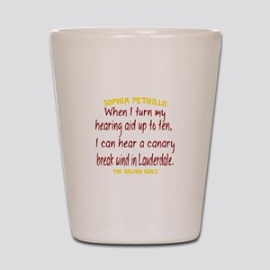 Golden Girls Sophia Quote Break Wind Shot Glass