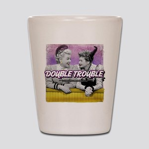I Love Lucy: Double Trouble Shot Glass